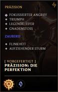 Vorgefertigte Runenseite Die Perfektion