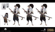 Yasuo Kin of the Stained Blade Concept 26