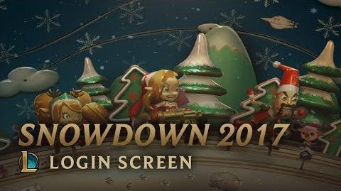 Snowdown 2017 - Login Screen