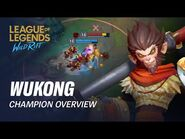 Wukong Champion Overview - Gameplay - League of Legends- Wild Rift