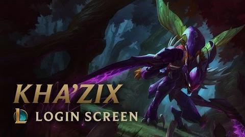 Kha'Zix, the Voidreaver - Login Screen