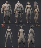 Vi Braum Illaoi Yasuo Cinematic concept 01