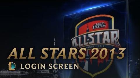 All-Star Shanghai 2013 - ekran logowania