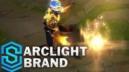 Lichtbogen-Brand - Skin-Spotlight