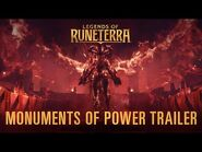 New Expansion- Call of the Mountain - Monuments of Power Trailer - Legends of Runeterra
