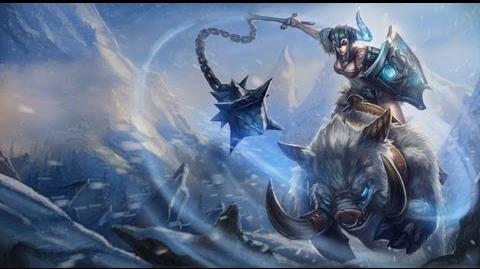 Sejuani Art Spotlight League of Legends