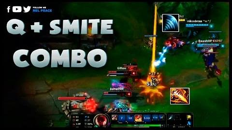 Smite Compilation - Smite Q Play (League of Legends)