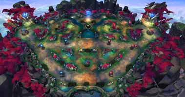 Tempel der Lilie und des Lotus Karte 02