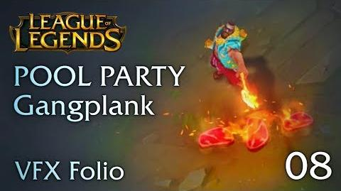 VFX Folio Pool Party Gangplank