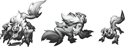 Wölfe Konzept 03