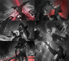 Twisted Fate Blutmond- Splash Konzept 01