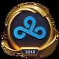 Worlds 2018 Cloud9 (Gold) Emote
