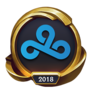 Worlds 2018 Cloud9 (Gold) Emote