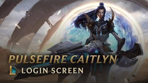 Cybernetyczna Caitlyn - ekran logowania