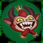 Evil Grin Emote