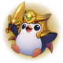 Season 2019 - Victorious Pengu - Gold Emote