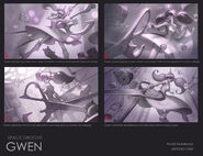 Gwen SpaceGroove Splash Concept 01