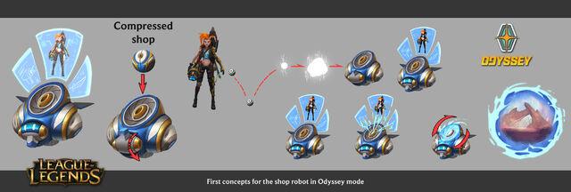 Odyssey Ora Bot concept 01