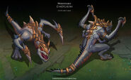 Cho'Gath Prehistoric Concept 01