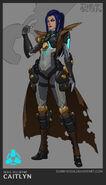 Caitlyn Pulsefire Concept 04
