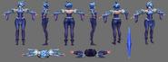 Irelia Update Frostblade Model 03