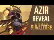 Azir Reveal - New Champion - Legends of Runeterra