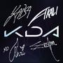 KDA ALL OUT 2020 Autogramm Beschwörersymbol