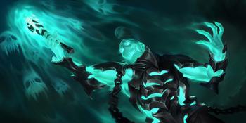 An undead created by the Black Mist.