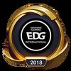 Emotka Mistrzostwa 2018 – Złote EDG