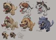 Kog'Maw Pug'Maw Concept 01