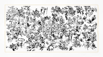 League of Legends 10th Anniversary Mural Promo
