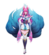 Spirit Bonds Model Ahri Surprise