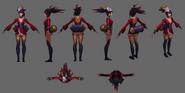 Akali Update BloodMoon Model 02