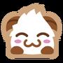 Poro sticker blush