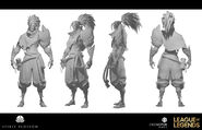 Yasuo Kin of the Stained Blade Model 05