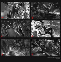 Vayne Feuerwerks- Splash Konzept 01