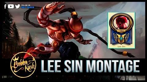 Lee Sin Bubba Kush Montage - Best Lee Sin 1 Million Mastery Points