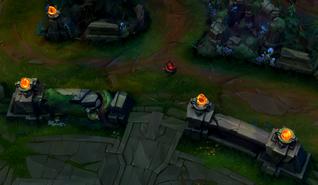 Infernal Rift blast cone location