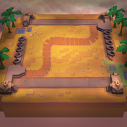 TFT Reckoning II Desert Path Arena