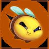 Bee Mad Emote