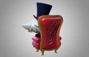 Gnar Gentleman- Statue model 02