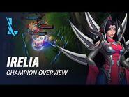 Irelia Champion Overview - Gameplay - League of Legends- Wild Rift