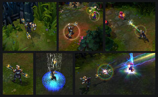 Lux LegionáriadeAço Screenshots
