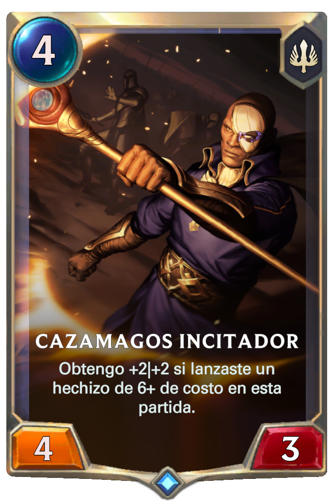 Cazamagos Incitador (Legends of Runeterra)