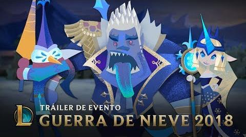 El día antes de la Guerra de Nieve Tráiler de evento Guerra de Nieve 2018 - League of Legends