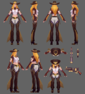 Miss Fortune Cowgirl WR Model 01