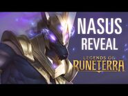 Nasus Reveal - New Champion - Legends of Runeterra
