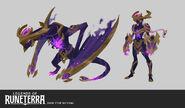 Shyvana DarkStar LoR Concept 02