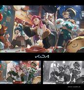KDA ALL OUT Promo Concept 01