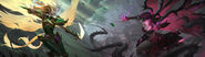 Kayle Morgana Update Viridian Blackthorn Promo